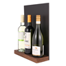 Image of Wine Bottle Display with Chalkboard