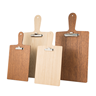 Image of Wooden Paddle Clipboard Menu Holder