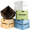 Image of Square Heavyweight Planter Crate