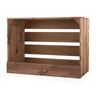 Image of Large Wooden Crate with Slat