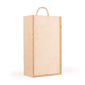 Image of Two Bottle - Plywood Wine Box