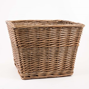 Image of Sloping Sides Antique Wash Open Basket