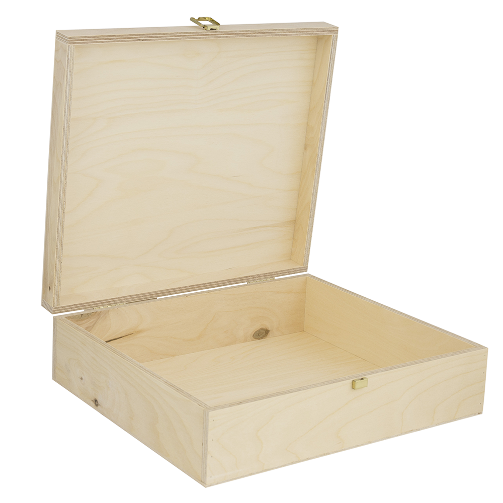 Three bottle hinged wooden wine box woodenboxuk for Empty wine crates