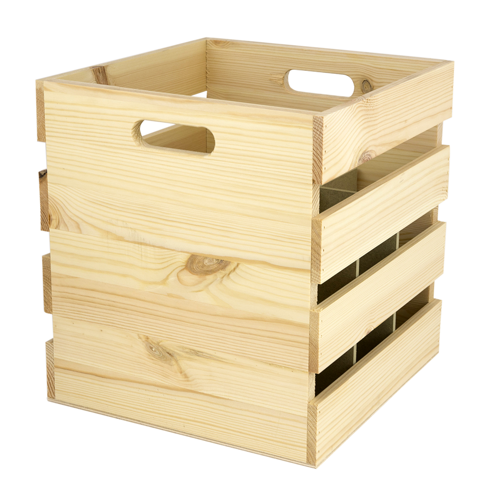 9 bottle wine crate woodenboxuk What to do with wine crates