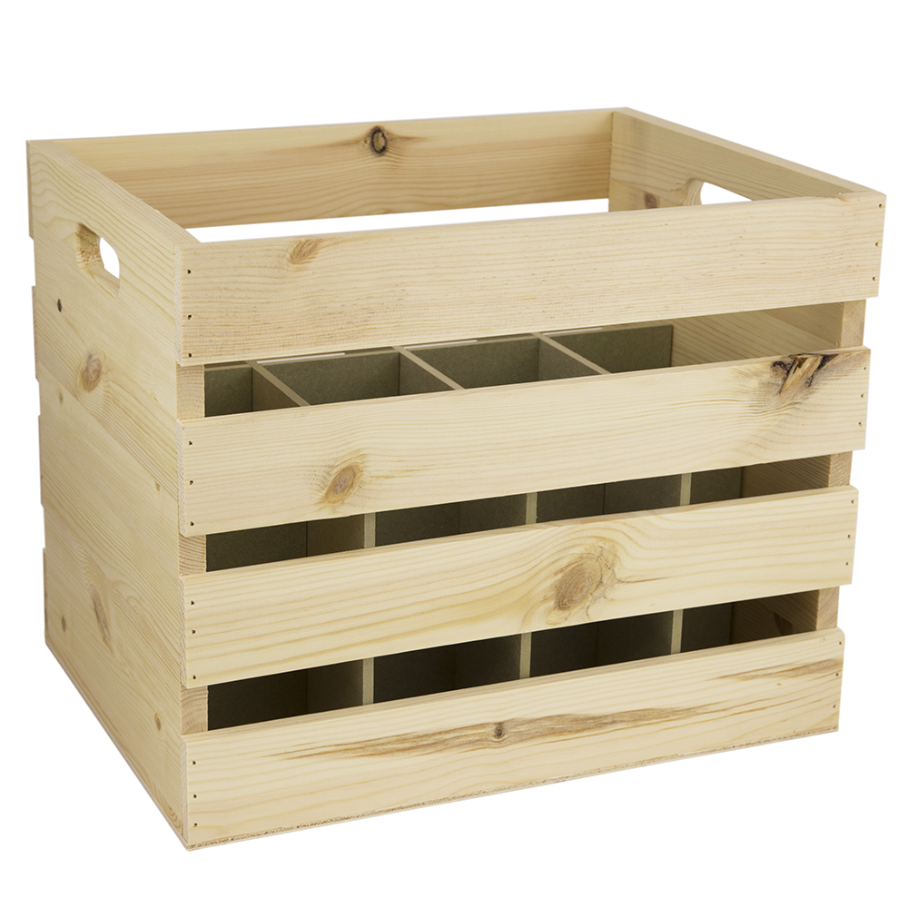 12 bottle wine crate woodenboxuk for Empty wine crates