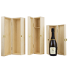 Image of Magnum Hinged Wooden Wine Box