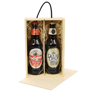 Image of Two Bottle Beer Box