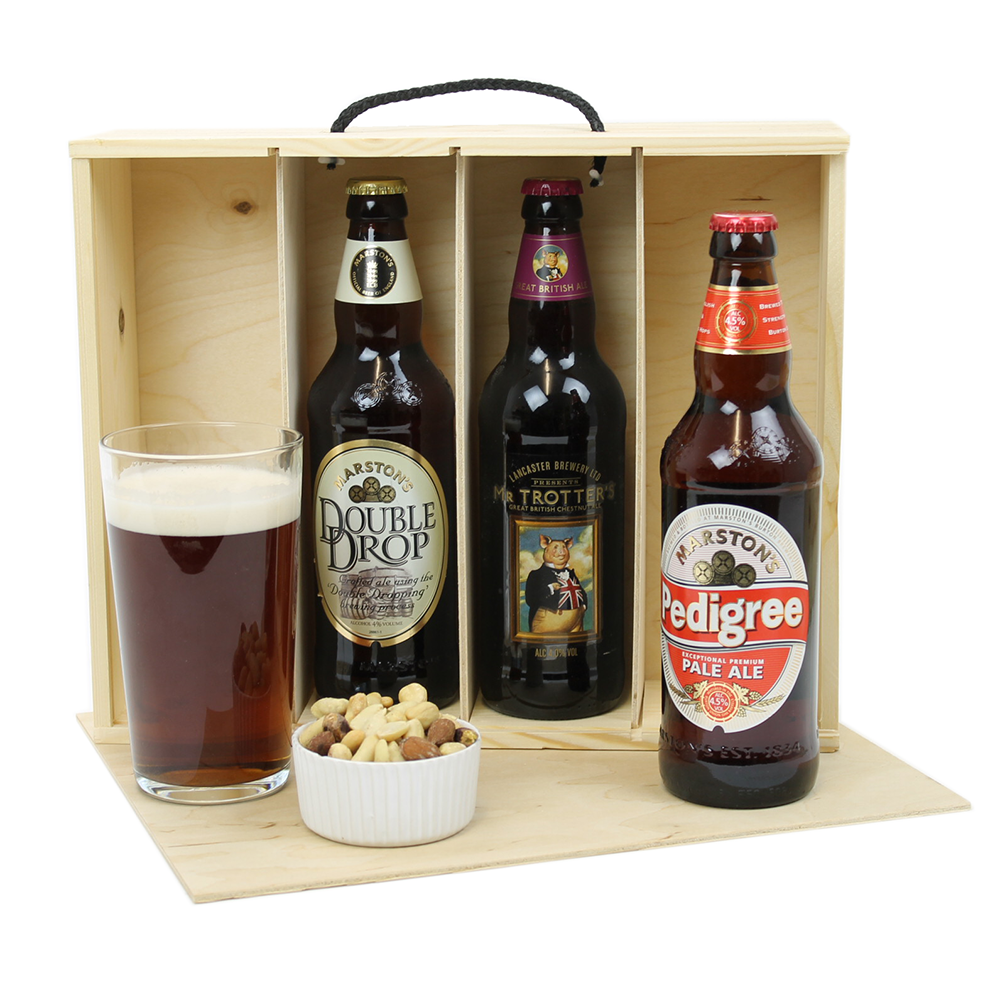 Four Bottle Beer Box Woodenboxuk