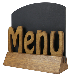 Image of Menu (Cut Out) Holder