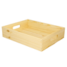 Image of Small Rustic Tray with Handles