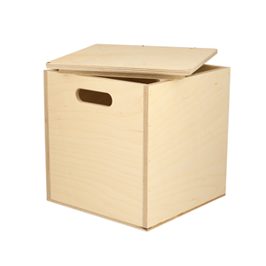 Image of Small Ply Cube Chest