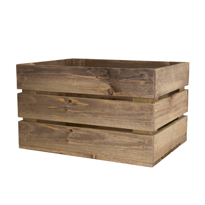 Small rustic wooden crates woodenboxuk for Timber crates