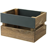 Image of Mini Chalkboard Panel Crate