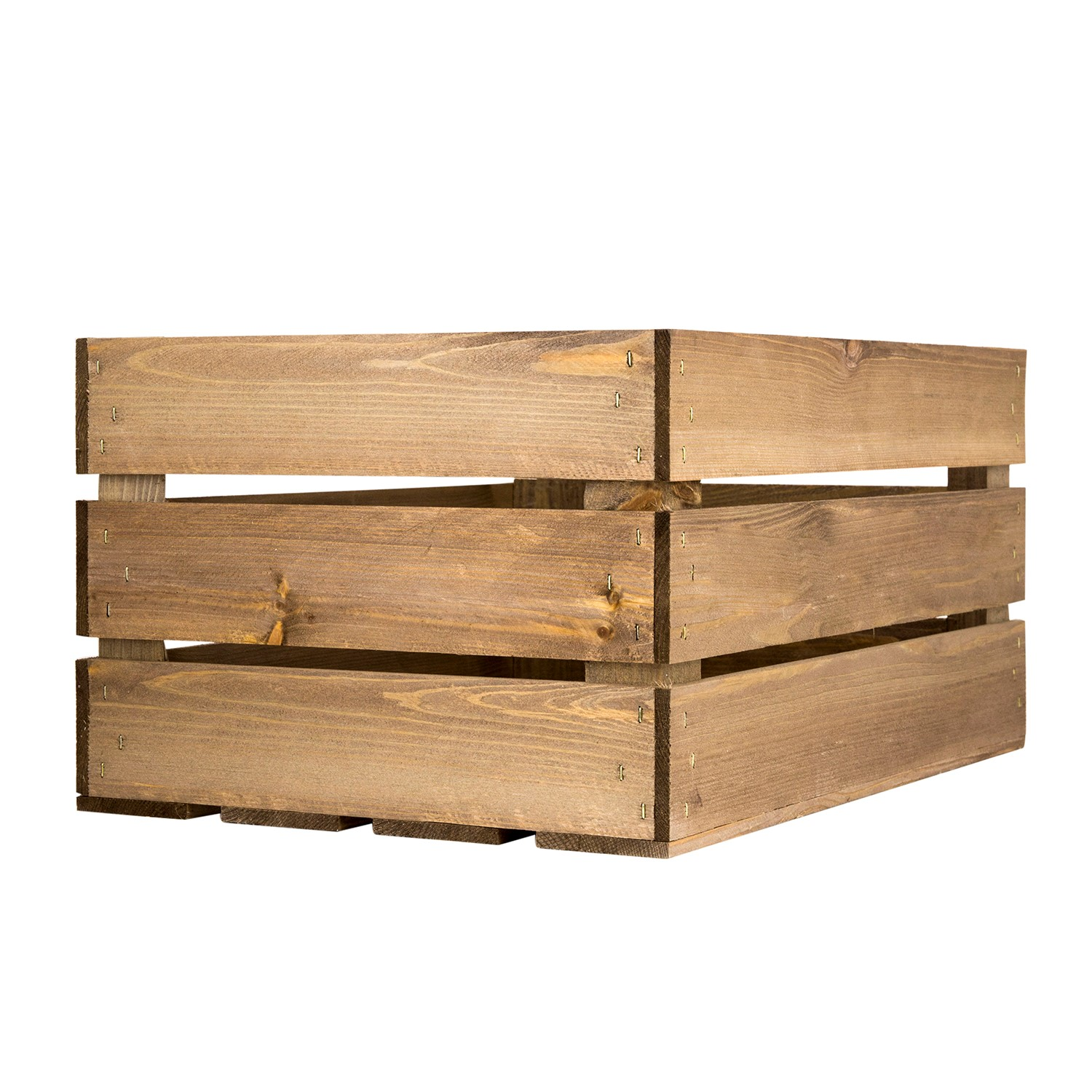 image of large rustic wooden crate