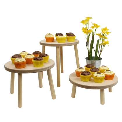 Image of Wooden Stools