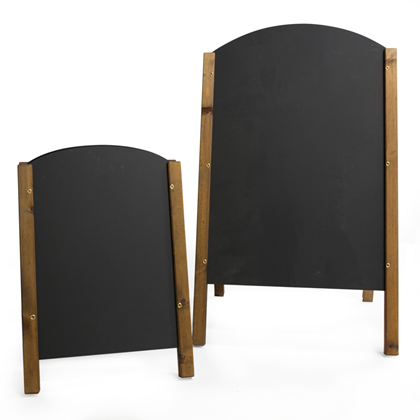 Image of Rounded Top Chalkboard