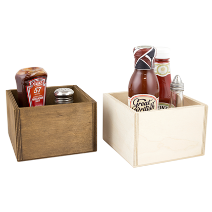 Image of Square Condiment Holder