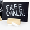Image of A5 Detachable Chalkboard Displays (Pack of 5)