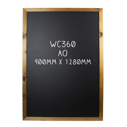 Image of Double Sided Framed Chalkboard