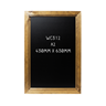 Image of Dark Oak Framed Chalkboard