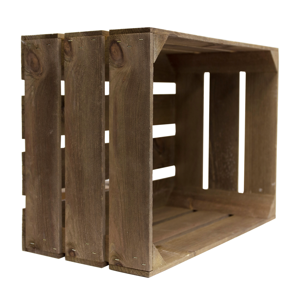 Large rustic wooden crate woodenboxuk for Timber crates
