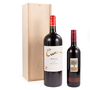 Image of Magnum Sliding Lid - Plywood Wine Box