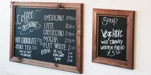 Chunky Framed Chalkboards