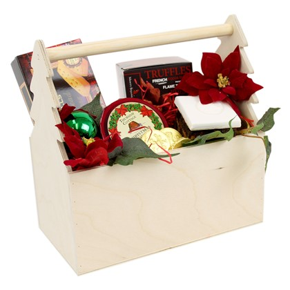 Image of Christmas Tree Festive Trug