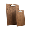 Image of Wooden Clipboards - Fixed Clip