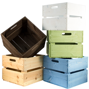 Wooden Planter Crates