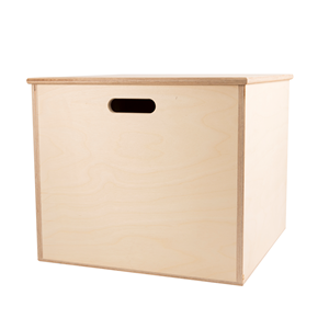 Image of Medium Ply Cube Chest
