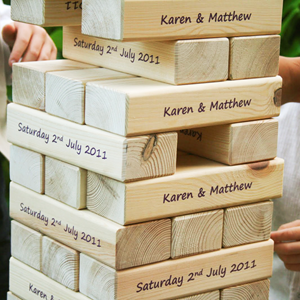 Image of Printed Giant Tumbling Blocks