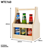 Image of 6 Beer Bottle (500ml) Carrier