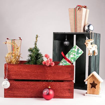 Image of Small Festive Planer Crates