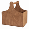 Image of Wooden Trug with Curved Shoulders - Small