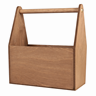 Image of Gold Cedar Tall Wooden Trug