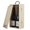 Image of 15x 2 Bottle Wine Boxes with Free Print