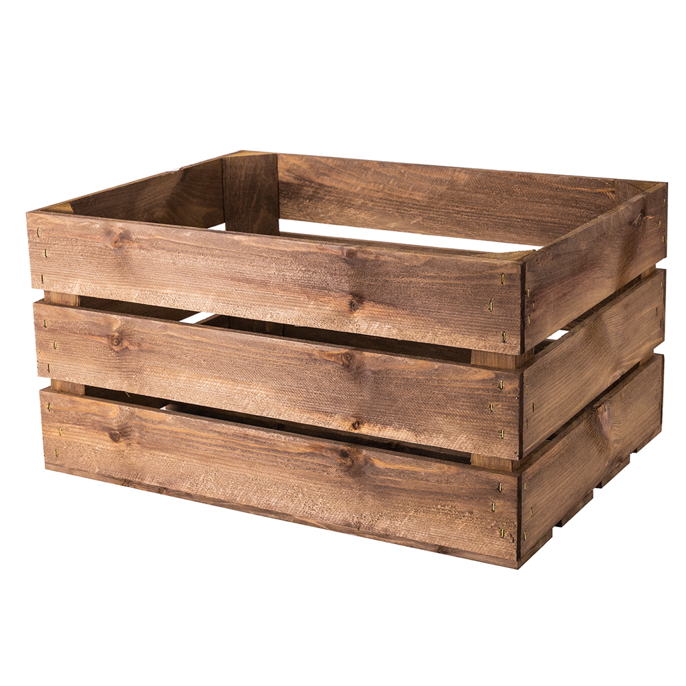 Large Rustic Wooden Crate Woodenboxuk