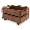 Image of Wooden Rustic Log Crate