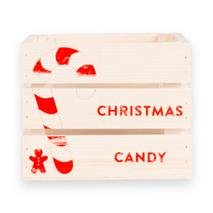 Image of Christmas Candy Mini Crate