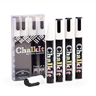 Image of Chalk It Wet Wipe Liquid Chalk Markers - Pack of 4 - White (6mm)